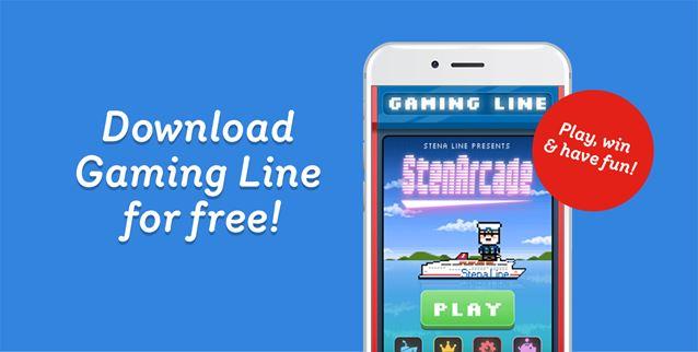Download Stena Line's Gaming Line app